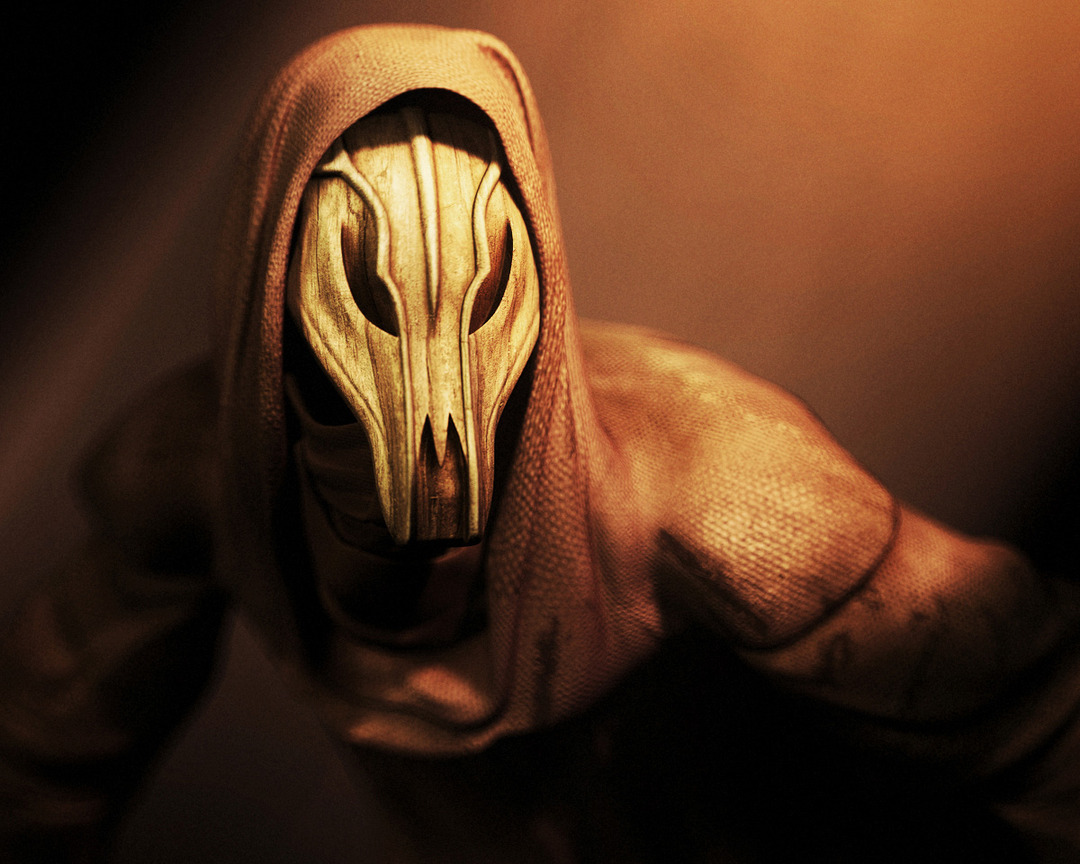 Andor Kollar Twilight from Silent Hill, Horror character with mask and hood