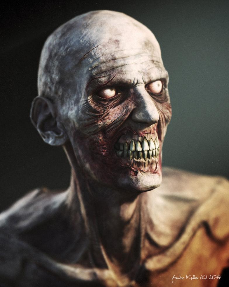 Andor Kollar 3d Zombie Character