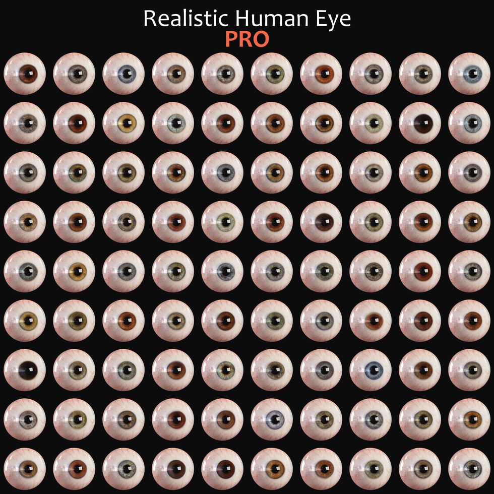 different eye colors, big list of eyes, lot of eyeballs