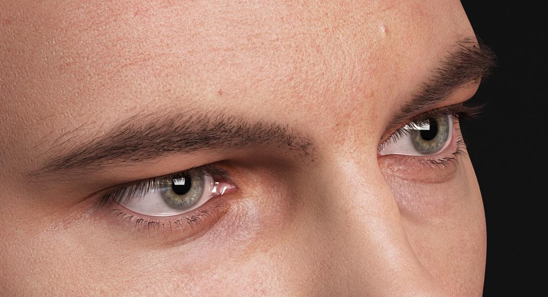 realistic 3d eye