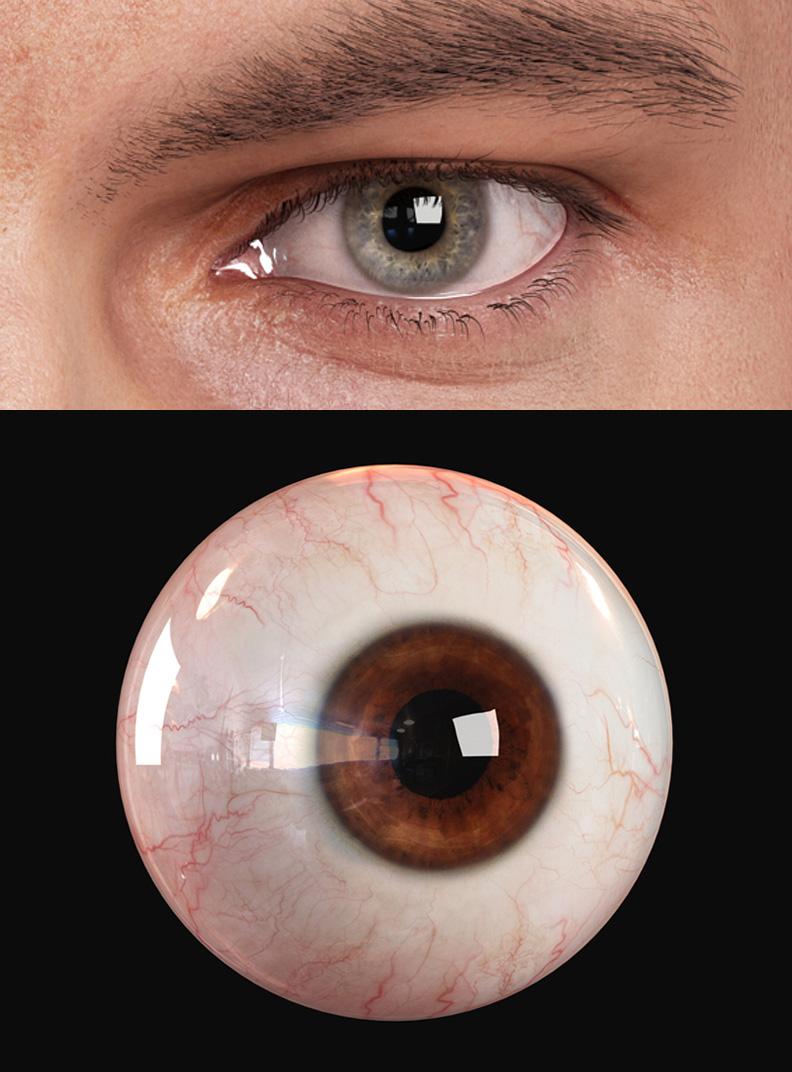 3d Human Eye | Andor Kollar - Character Artist