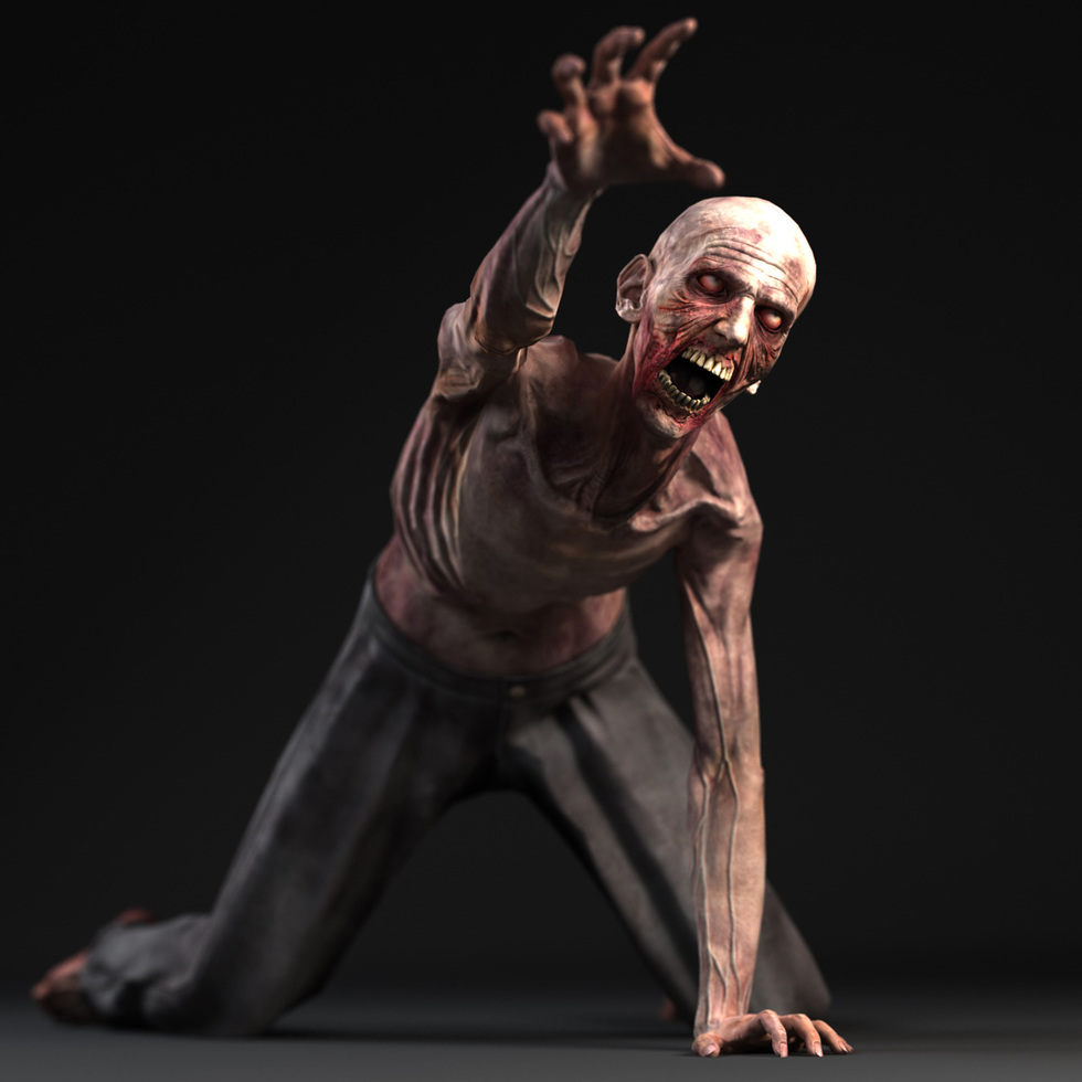 zombie - game character