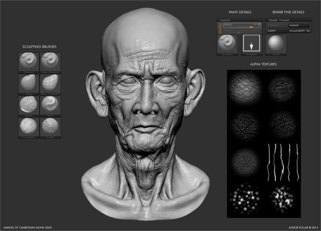 Cambodian_Head_sculpting