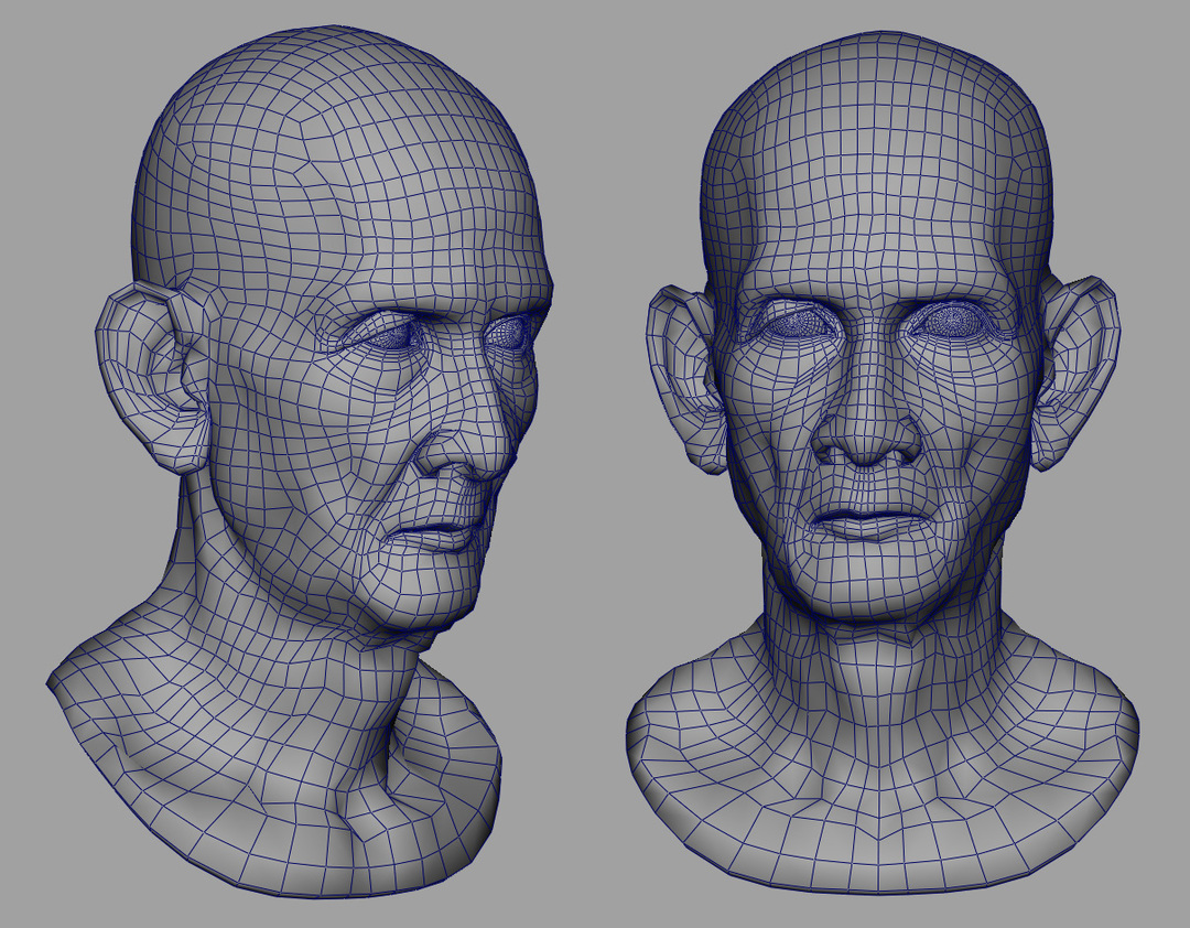 Cambodian_Head_wireframe
