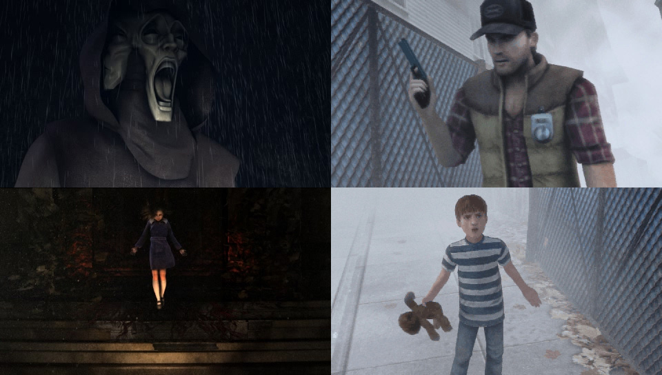 Silent Hill game movie scenes