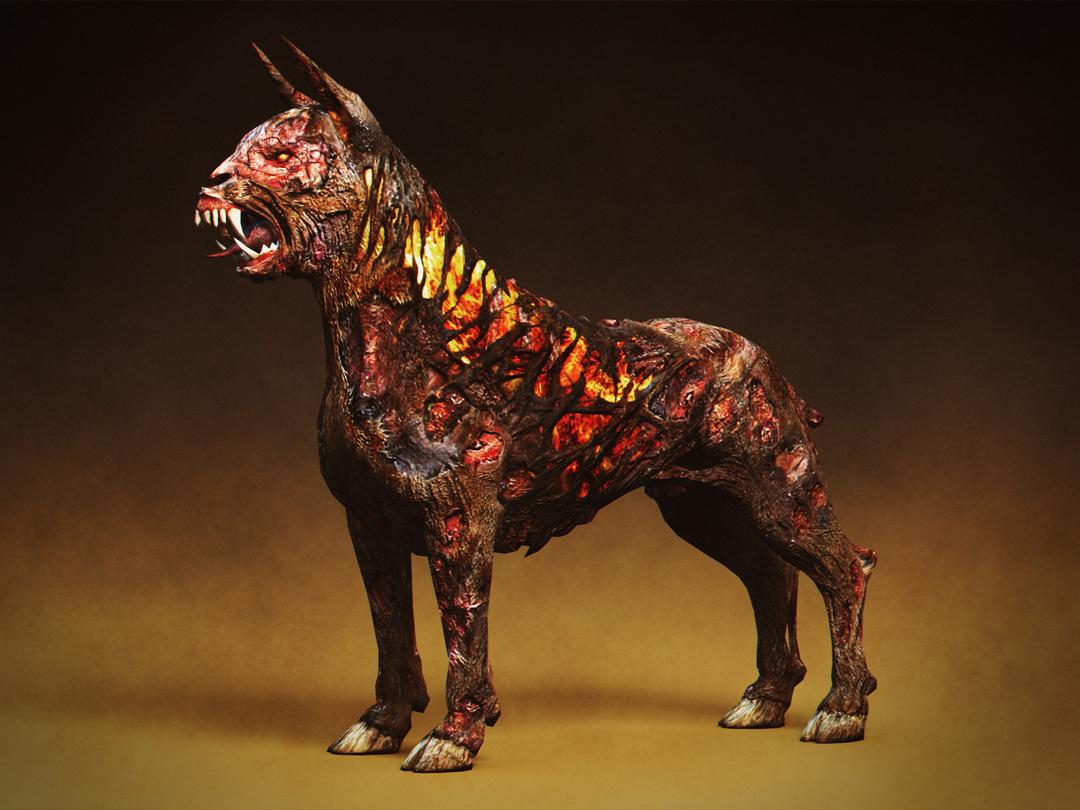 Witcher Beast Hellhound