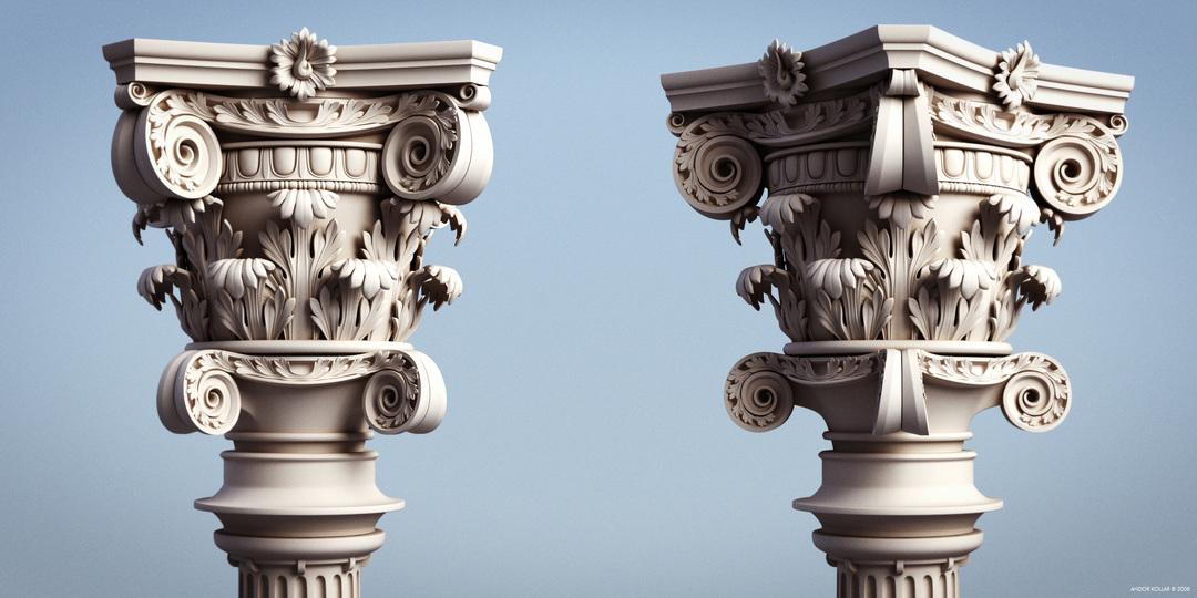 Andor Kollar Empire Pillar Roman Greek Column