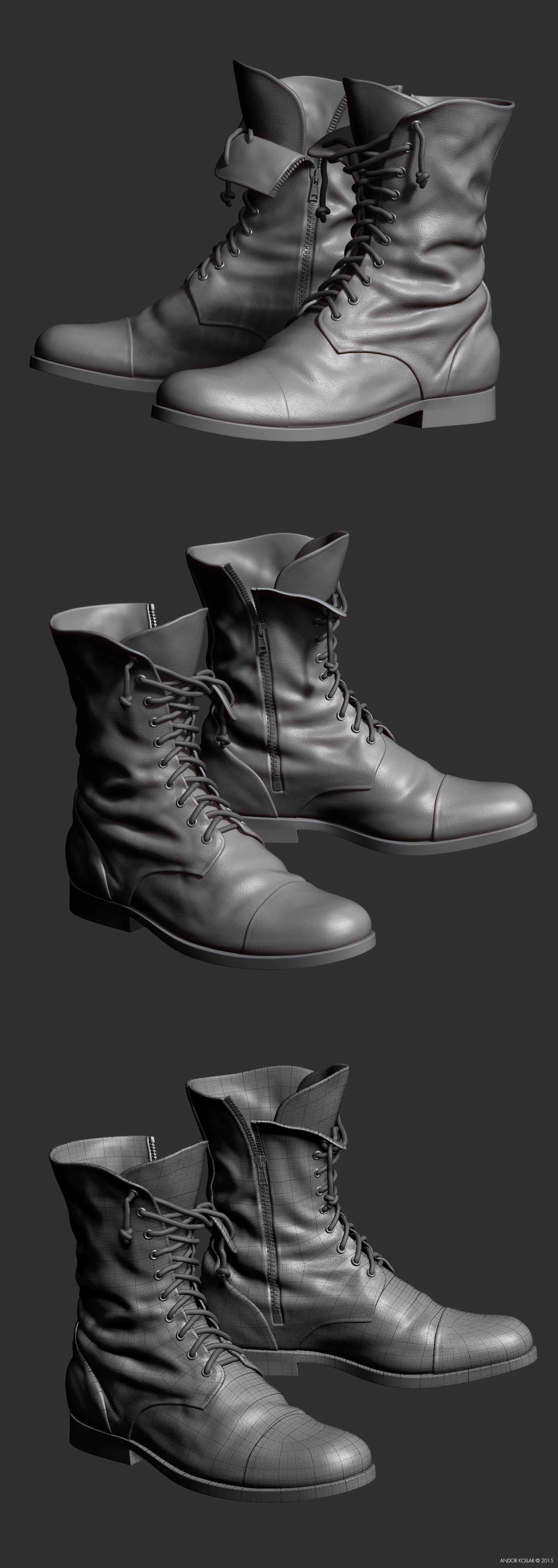 Andor-Kollar_Soldier-Boot