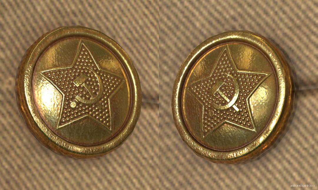 Soviet Button