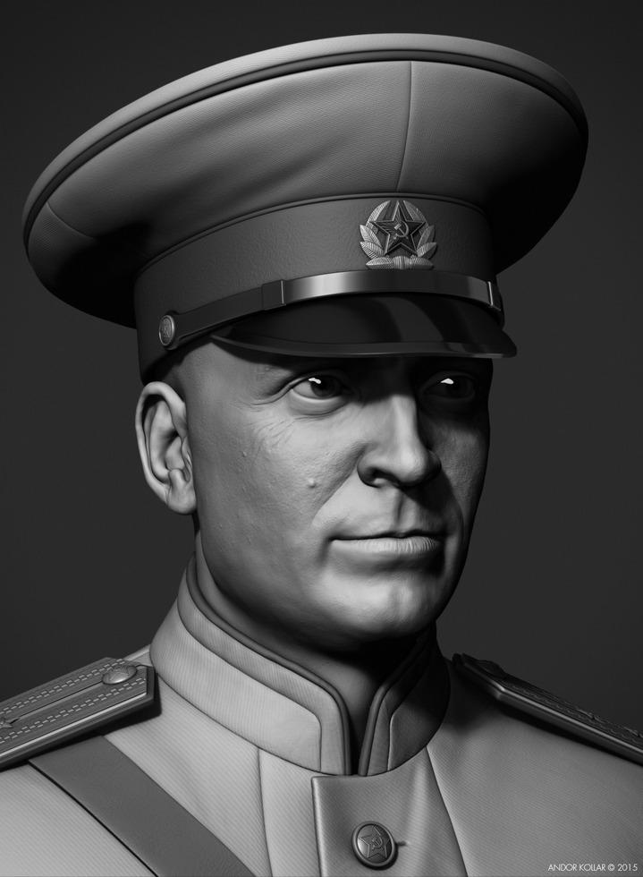 Andor-Kollar_Soviet-Officer_zbrush_4