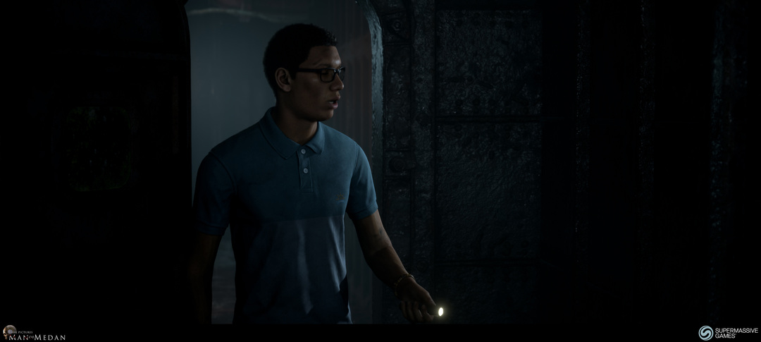 The Dark Pictures - Man of Medan. Brad on the ghost ship.
