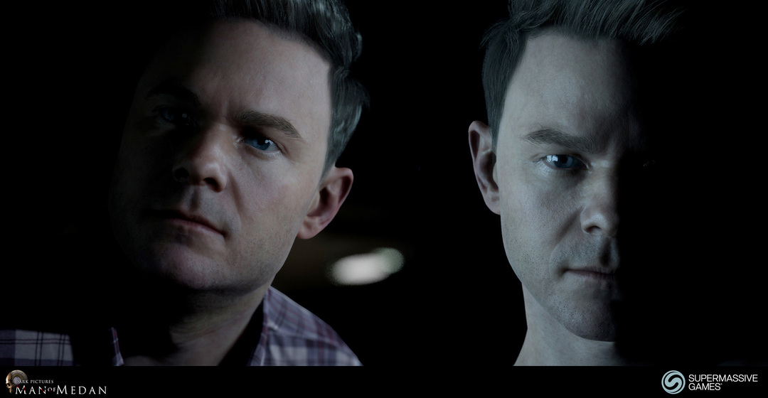 Conrad is character in The Dark Pictures - Man of Medan game in Unreal Engine. The actor is Shawn Ashmore.