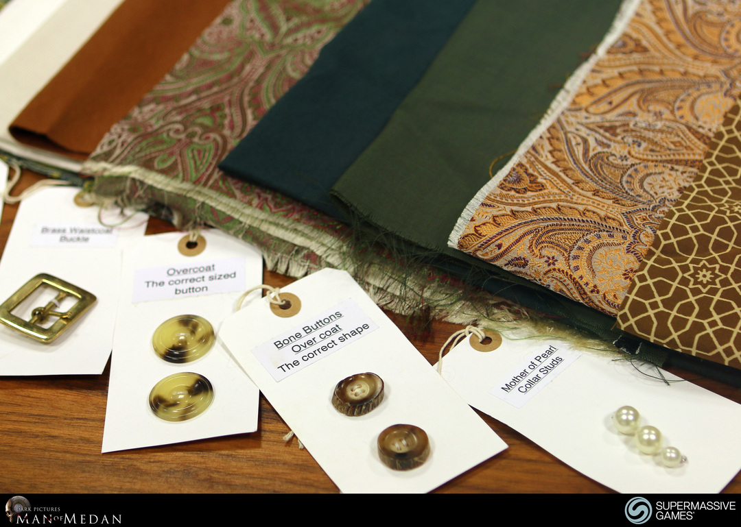 Fabric, button references