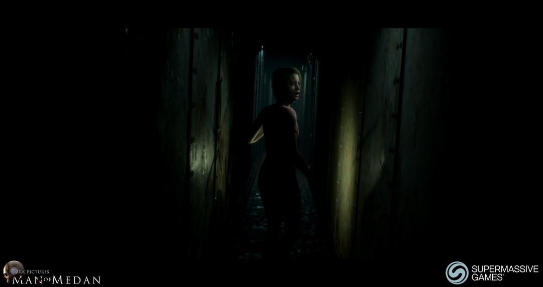 Julia in Dark Pictures - Man of Medan. Andor Kollar