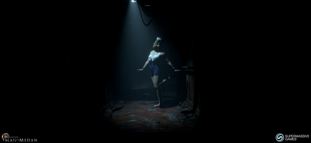 The pinup is in the ghost ship in Man of Medan game.