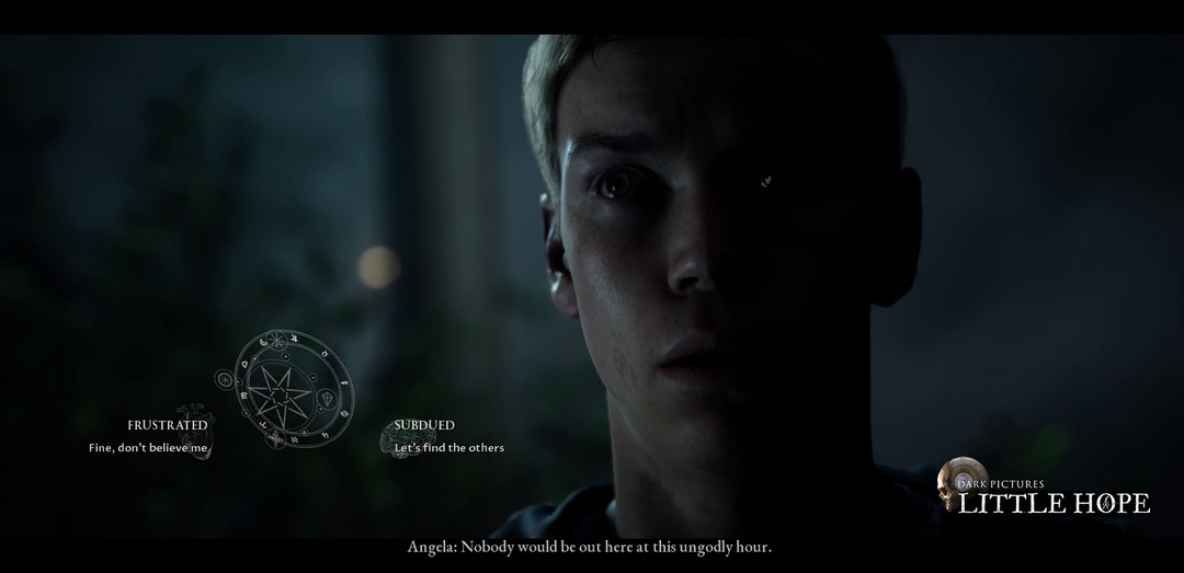 The Dark Pictures, Little Hope, Andrew, Will Poulter, horror game